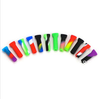 Wholesale silicone hoses for sale - Group buy Smoking Mouthtips Silicone Mouthpiece Reusable Filter Mouth Tips multiple colors Male For Hookahs Glass Bongs Hose Shisha Pipe tools