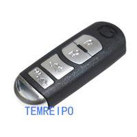 mazda remote key shell case al por mayor-Reemplazo de 4 botones de la caja de la llave remota Shell Fob para Mazda 3 5 6 CX-7 CX-9