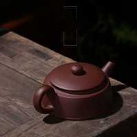 ingrosso teiere fatte a mano yixing-Purple Sands teiera handmade tea set produttori diretti piatto pozzo colonna teiera regali yixing teiera artigianato regali