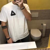 marcas de grife venda por atacado-Moda T-shirt para Homens Marca Hip Hop T-shirt Homens Sólidos Colro Asiático Tamanho S-3XL Verão Designer Casual Camisetas Letras Impresso