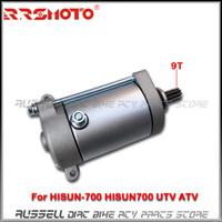 Wholesale teeth motor resale online - HISUN Teeth Electric Starter Motor For HISUN HISUN700 UTV ATV