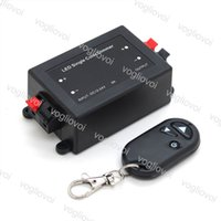 Wholesale wireless remote control dimmer switch for sale - Group buy LED Dimmer LED Single Color Dimmer Key RF Remote Control Wireless LED Controller V V DC A DHL