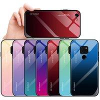 case huawei china оптовых-Компания Huawei mate20 постепенное изменение закаленное стекло чехол новый mate20 про мобильный телефон защитный чехол сделано в Китае