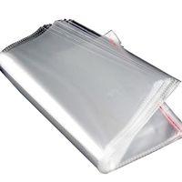 kleine klare verpackung großhandel-Klar selbstklebende Cello-Cellophan-Tasche Selbstklebende kleine Plastiktüten für Süßwarenverpackungen