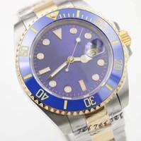 Wholesale mens luxury dive watches for sale - Group buy Hot Sale Watches Mens mm LB Ceramic Bezel Movement Sport Automatic Dive Men Wristwatches