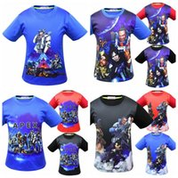 Wholesale baby fashion games resale online - 12 Styles Baby Boys Apex Legends T shirts Cotton Hiphop Funny Summer Shirt Hot Game Cosplay Clothes Home Clothing CCA11355