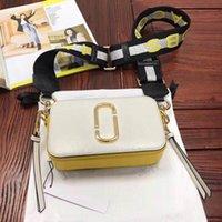 stereo çanta toptan satış-Stereo çevirme çanta deri kamera tasarımcısı geniş omuz çantası bayan inek derisi Kare çanta 2020 yüksek kalitede moda çanta bayanlar