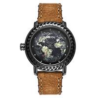 8c1100e3ce5 replicas venda por atacado-Masculino Movimento relógio de Pulso papel Tempo  de Lazer Hyun Cor