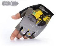 Wholesale fingerless bike gloves resale online - Fashion Gloves Half Finger Mens Women s Summer Gloves Nylon Sport Mountain Bike Gloves Guantes Ciclismo