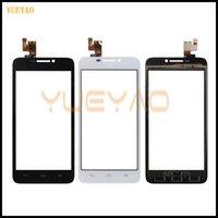 huawei artan cam sayısallaştırıcı toptan satış-Mobil Huawei Ascend G630 G630-U10 G630-U20 Için Dokunmatik Ekran Dokunmatik Ekran Cam Sayısallaştırıcı Sensörü Dokunmatik Ön Cam Sensörü