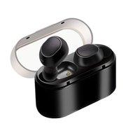 auriculares construidos al por mayor-Auriculares TWS16 Auriculares inalámbricos binaurales Bluetooth 5.0 Fitness Deportes Auriculares estéreo Micrófono incorporado Tapones para los oídos portátiles