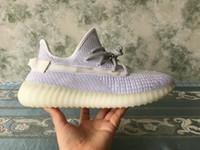 кроссовки из белой весны оптовых-Jeff Sneakers Unisex Kids повседневная обувь цвет белый светоотражающий 65 $ версия 2019 весна сетка прозрачная верхняя обувь новое поступление