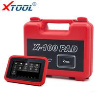 meilenkorrektur-schlüsselprogrammierer großhandel-XTOOL X100 PAD Selbstschlüsselprogrammierer für Autos OBD2 Scanner DPF BMS Gas Reset Auto Diagnostic Scan Tool Kilometerzähler Korrektur-Tool