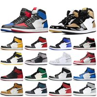 Wholesale high cut gym shoes for sale - Group buy 2019 s Men Basketball Shoes Most Popular High Obsidian UNC Rookie of the Year Turbo Green Black Gym Red Designer Trainers