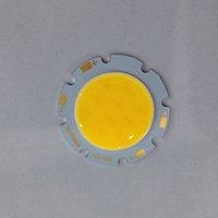 3w led ışık kaynağı toptan satış-3 W 5 W 7 W Yüksek Güç Lamba Boncuk COB LED Işık Kaynağı Erik Çiçeği Kurulu Beyaz Sıcak Beyaz Isteğe Bağlı
