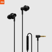 Wholesale pro drivers resale online - 100 Original Mi Hybrid Pro HD Earphone In Ear Earphone Wired Control Dual Driver With MIC for Redmi Note plus Mi