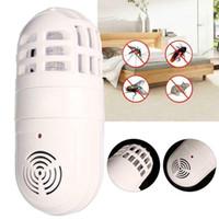 ingrosso lampada di zanzare-Elettrico Zapper Zombi Domestico Antiparassitario Insetto Insetto Killer Ad Ultrasuoni Zanzara Killer Lampada Pest Control CCA11762 50 pz