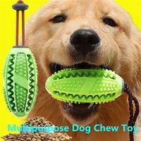 ingrosso spazzolino multiuso-Toy Training multiuso cane spazzolino giocattolo spazzolatura Stick Pet Molar Interactive alimentazione animale domestico per il cucciolo di pulizia dei denti Chew spazzola giocattolo
