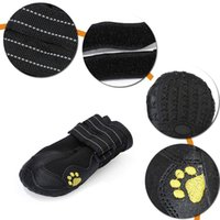 Wholesale breathable dog shoes for sale - Group buy TFBC Waterproof Dog Shoes Breathable Paws Protector Anti Skid Dog Boots with Reflective Strap Pet Winter Warm Snow Boots for S