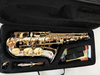 Hot Brand NEW YANAGISAWA W037 Alto Saxophone Nickel Plated Gold Key Professional YANAGISAWA Super Play Sax Mouthpiece