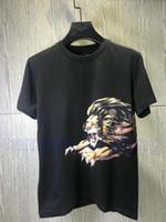 2019 Designer Herren T Shirts Marke Kleidung Neu Kommen LEO POPOVER HOODY LION Stickerei Brief Stern T Shirt Baumwolle Casual Tee Top T Shirt