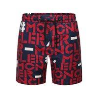 heiße stämme für männer großhandel-Premium-Monogramm Stretch-Bermudashorts Herren-Shorts Damen-Hotpants Casual-Shorts Schnelltrocknende Surfhose Hose Badehose