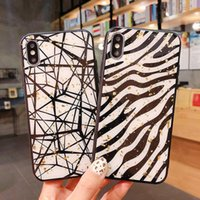 Wholesale phone cases zebra online – custom 2019 New Arrival Phone Case with Zebra and Line Design for IPhoneX Xs XSmax XRIPhone7 plus IPhone7 IPhone6 s IPhone6 sP Case