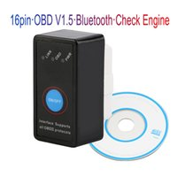 Wholesale universal window switches resale online - Universal OBD2 ELM327 V1 Scanner Auto OBDII Scan Tool Car Code Scanner with Switch for Android Symbian Windows