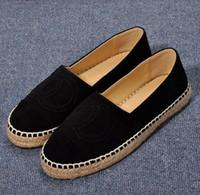 zapatos genuinos de cuero nobuck al por mayor-Pisos mocasines de las mujeres alpargatas de calidad superior de lujo de moda de cachemira de la marca mujeres de gamuza Nubuck Genuine cuero zapatos casuales más tamaño