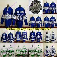 Wholesale 100th Anniversary Toronto Maple Leafs jerseys MATTHEWS MARNER RIELLY TAVARES ANDERSEN Centennial Classic RBK hockey jersey