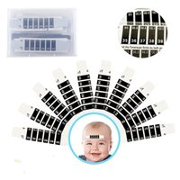 Wholesale household sensor for sale - Group buy DHL In Stock Baby Forehead Head Strip Body Fever Thermometer Children Safety Baby Care Thermometer Baby Feverscan