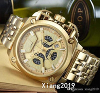 Wholesale big band mens watches for sale - Group buy New DZ Mens Watches Double pointer Big Dial Display mm Top Brand Quartz Watch Steel Band DZ7344 Fashion Wristwatches