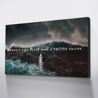 Wholesale mural painting for living room for sale - Group buy smooth seas Wall Pictures For Living Room Wall Art Canvas Canvas HD Decoration Maison Tableau Mural
