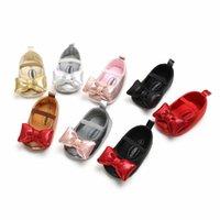 ingrosso ragazzi crochet sandali-Ragazza bambino primo camminatore scarpe antiscivolo morbido suola ballerina scarpe da ballo prewalker scarpe bambino 6 paia un sacco per trasporto di goccia