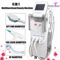 machines de beauté d'occasion à vendre achat en gros de-Hot vente 4 beauty machine in1 opt SHR nd e-light yag machines RF laser pour l'utilisation du spa