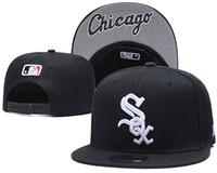 Wholesale mens football hats for sale - Group buy white sox fashion Design hats Hot Selling high quality Men Women Basketball Snapback Baseball Football Hats Mens Sports Flat Hip Hop C