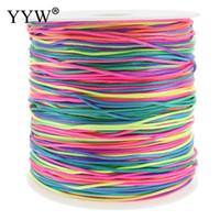 ingrosso corda in nylon di bracciale-1.2mm filo di nylon filo nodo cinese macrame cord braccialetto intrecciato stringa fai da te multi-colore nappa bordare europeo filo stringa