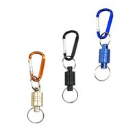 boucles d'alpinisme achat en gros de-Pêche manqué corde corde travail aérien alpinisme boucle en aluminium noir bleu pratique solide durable en plein air randonnée magnétique fermoirs magnétiques 7
