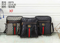 Wholesale luxury business laptop bags for sale - Group buy new style gucci men briefcase business package MICHAEL KOR shoulder bag clutch handbag luxury messenger bags top leather laptop bag