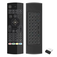 Wholesale android tv box motion resale online - Air Mouse Remote Control Wireless G Keyboard Backlight Motion Sensing Game IR Learning Buttons for Smart TV Android TV Box Air Mouse