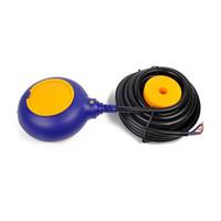 interruptor de nível flutuar venda por atacado-4M controlador Float Mudar Hot Líquido Venda Switches Líquido Água Fluid Nível Float Mudar Controlador Contactor Sensor