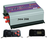 wechselrichter lcd großhandel-Freeshipping, 600W Wind Power Inverter, Netzwechselrichter, Wechselrichter (SUN-600G-WAL-LCD) Mit LCD-Anzeige, MPPT-Funktion