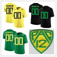 neue fußball-trikots großhandel-2018 neue Stil Oregon Ducks Mens PAC 12 Patch 44 DeForest Buckner 35 Joe Walker College Football genäht Jersey