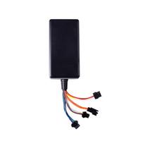 antena gps al por mayor-Localizador de vehículos a prueba de agua para automóvil a prueba de agua GPS incorporado GSM Antena GPS Soporte Google Map Link Amplio Voltaje de entrada 9-36V