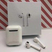 ses kalitesi toptan satış-1: 1 Orijinal iphone X XS XR Için Orijinal kalite Orijinal Kablosuz Bluetooth Kulak Kulaklık Ses Şarj Kutusu Ile Bağlayın
