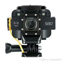 Wholesale soocoo for sale - SOOCOO Action Camera S80 Waterproof mini Video Build in WIFI sport DV sport camera Starlight Night Vision support external mic
