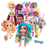 Wholesale princess china dolls resale online - Surprise Dolls Kids Toys Princess Long hair Doll Novelty Gift Box Gadget with colors for Girls Children New Year Present Funny Lil Dolls