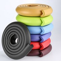 Wholesale safety strips 2m for sale - Group buy 2M Baby Safety Table Desk Edge Guard Strip Home Cushion Guard Strip Safe Protection Children Bar Strip Soft Thicken