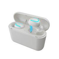 powerbank bluetooth großhandel-HBQ-Q32 TWS Bluetooth 5.0 Kopfhörer In-Ear-Ohrhörer mit Ladekasten Drahtlose Stereo-Ohrhörer Kopfhörer-Powerbank für iPhone Samsung Xiaomi