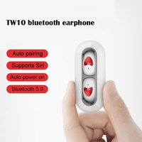 Wholesale used stereos for sale - Group buy Stylish BT Double Ear Use Button Control Waterproof Wireless Earphones Bluetooth With Bass Smart PhoneWireless Stereo Earbuds